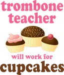 Funny Trombone Teacher T-shirts and Gifts
