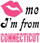 Kiss Me Im From Connecticut T shirts and Gifts