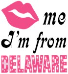 Kiss Me Im From Delaware T shirts and Gifts