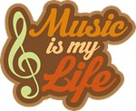 Music Is My Life Gifts and T-shirts