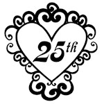 25th Anniversary Love Gifts and Mugs