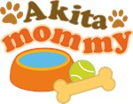 Akita Mommy Pet Mom Gifts and T-shirts