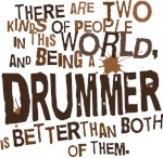 Funny Drummer T-shirts and Gifts