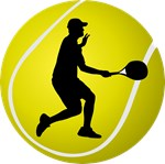 Cool Tennis Player Silhouette T-shirts and Gifts