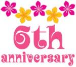 6th Anniversary Gift Hawaiian Themed