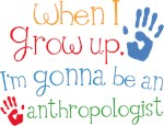 Future Anthropologist Kids T-shirts