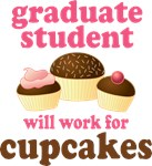 Funny Graduate Student T-shirts and Gifts