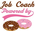 Job Coach Powered By Doughnuts Gift T-shirts