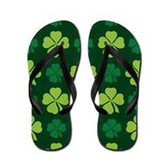 IRISH ST PATRICKS FLIP FLOPS
