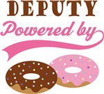 Deputy Powered By Doughnuts Gift T-shirts