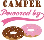 Camper Powered By Doughnuts Gift T-shirts