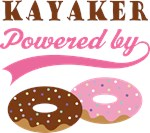Kayaker Powered By Donuts Gift T-shirts