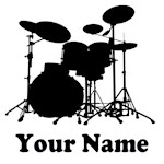 PERSONALIZED DRUM T-SHIRTS FOR PERCUSSIONISTS