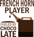 French Horn Player Fueled By Chocolate Gifts