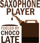 Saxophone Player Fueled By Chocolate Gifts