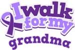 WALK FOR GRANDMA ALZHEIMER'S T-SHIRTS
