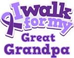 WALK FOR GREAT GRANDPA ALZHEIMER'S T-SHIRTS