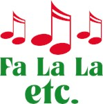 Christmas Music Fa La Etc T-shirts