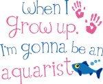 Future Aquarist Kids T-shirts
