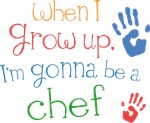 Future Chef Kids T-shirts