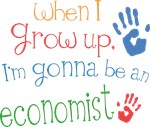 Future Economist Kids T-shirts
