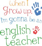 Future English Teacher Kids T-shirts