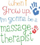 Future Massage Therapist Kids T-shirts