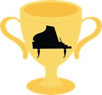 Piano Award Trophy Tshirts and Gifts
