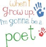 Future Poet Kids T-shirts