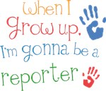 Future Reporter Kids T-shirts