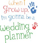 Future Wedding Planner Kids T-shirts