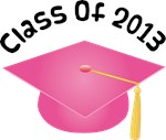 2013 School Class Graduation (Pink)