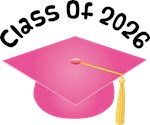 2026 School Class Graduation (Pink)