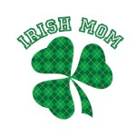 IRISH MOM ST PADDYS T-SHIRTS