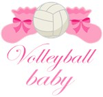 CUTE VOLLEYBALL BABY APPAREL