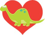 Dinosaur Lover Kids Tee Shirts