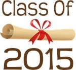 2015 School Class Diploma Design Gifts