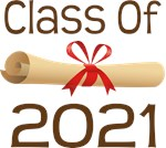 2021 School Class Diploma Design Gifts