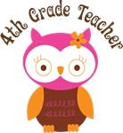 4th Grade Teacher Gift T-shirts and Mugs