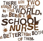 SCHOOL NURSE HUMOR T-SHIRTS