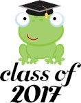 2017 Graduation Frog Gifts and Tshirts
