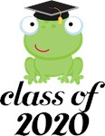 2020 Graduation Frog Gifts and Tshirts