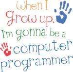 Future Computer Programmer Kids T-shirts