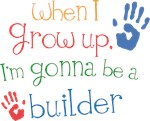 Future Builder Kids T-shirts