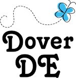 Dover Delaware Butterfly T-shirts