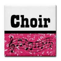 CHOIR MUSIC COASTERS
