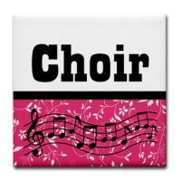 CHOIR MUSIC COASTERS