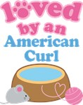 Loved By An American Curl Cat T-shirts