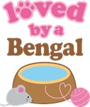 Loved By A Bengal Tshirt Gifts