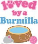 Loved By A Burmilla Cat T-shirts